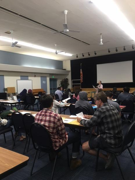 Typical ELAC Meeting - April 2016