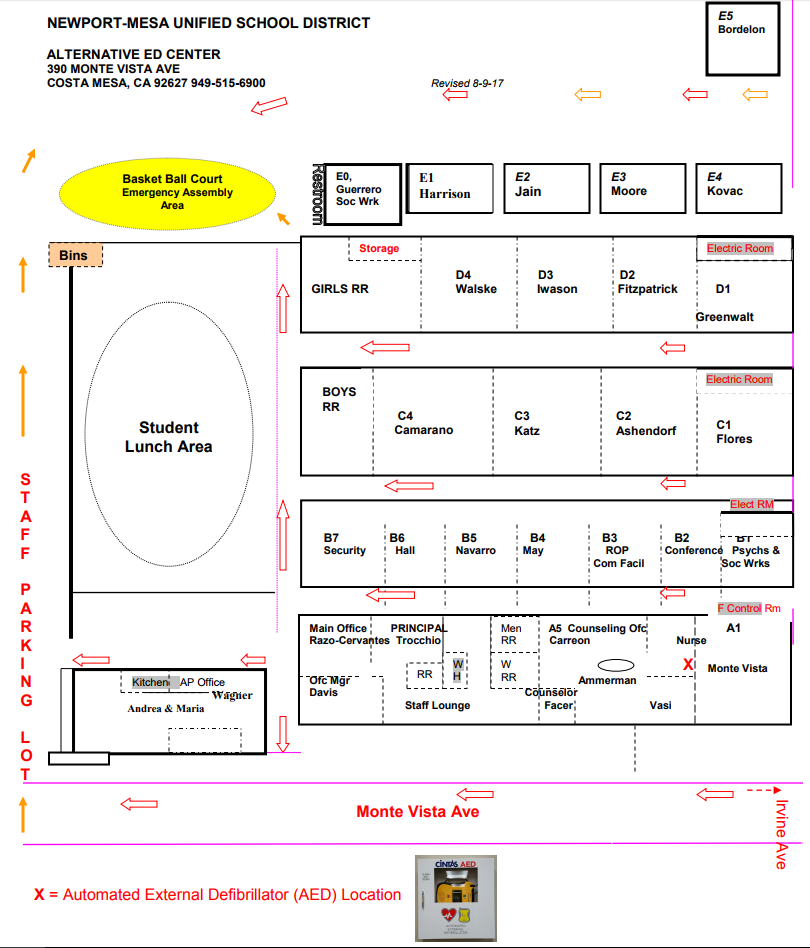 Back Bay Campus Map 17-10-19